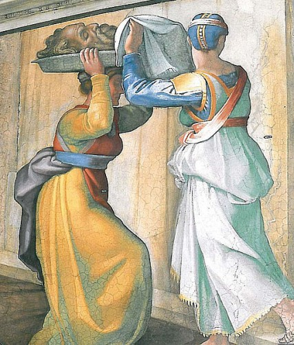 Judit y Holofernes. Miguel Ángel