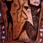 Ulises y Polifemo. Anónimo.