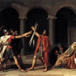 Jacques Louis David. Juramento de los Horacios