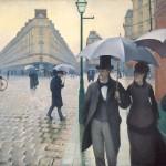 Gustave Caillebotte, Calle de París, día lluvioso