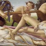 Botticelli. Ares y Afrodita.