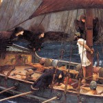 John William Waterhouse. Ulises y las sirenas.