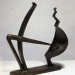 Giacometti. Hombre y mujer